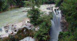 Djup Martvili kanjon i Georgia arkivfilmer