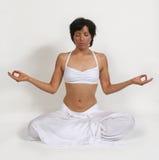 djup meditation Arkivbild