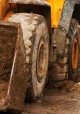 djup mud för bulldozer Royaltyfri Fotografi