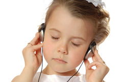 djup musik Royaltyfria Foton