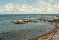 Djup sikt över kusten från tenerife fotografering för bildbyråer