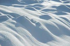 djup snow Arkivfoton