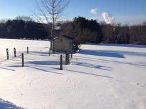 djup snow Royaltyfria Foton