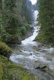 djup vattenfall Royaltyfria Foton