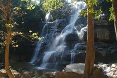 djup vattenfall för forst 4 Royaltyfri Foto