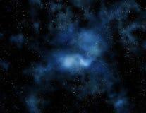 djupa nebulaavståndsstjärnor Fotografering för Bildbyråer