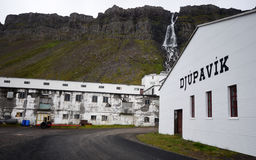 Djupavik, Islândia Fotografia de Stock