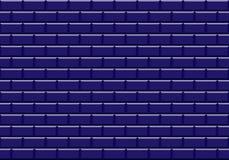 Djupblå keramiska mosaiktegelplattor texturerar bakgrund vektor illustrationer