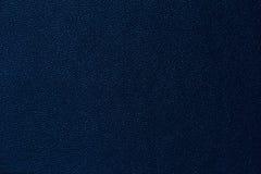 Djupblå lädertexturbakgrund Royaltyfri Fotografi