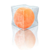 Djupfryst apelsin Royaltyfria Foton
