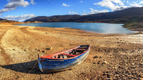 Djupfryst Busko sjö Royaltyfria Foton