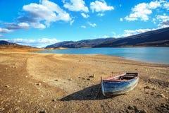 Djupfryst Busko sjö Royaltyfria Bilder