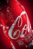 Djupfryst coca - cola Royaltyfri Bild