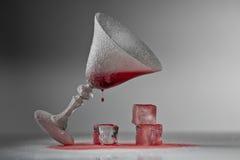 djupfryst exponeringsglas Royaltyfria Foton
