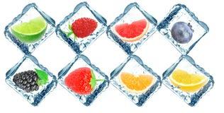 djupfryst frukt fotografering för bildbyråer