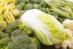 djupfryst grönsaker Fotografering för Bildbyråer