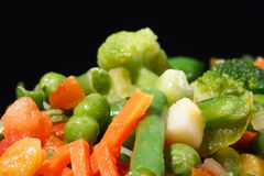 djupfryst grönsaker arkivbilder