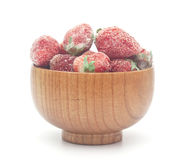 djupfryst jordgubbar Arkivbild