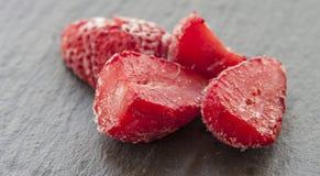 djupfryst jordgubbar Arkivfoto