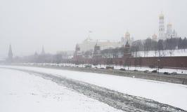 Djupfryst Kreml Fotografering för Bildbyråer