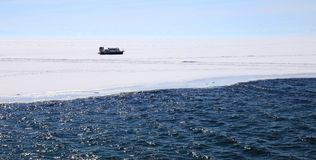 djupfryst lake arkivfoton