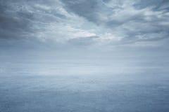 djupfryst lake Arkivbild