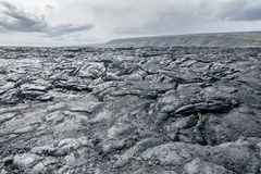 djupfryst lava Royaltyfria Bilder