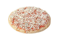 Djupfryst pizza. Royaltyfri Foto