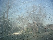djupfryst regn arkivfoton