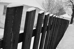 Djupfryst staket Royaltyfri Bild