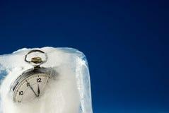 djupfryst tid Fotografering för Bildbyråer