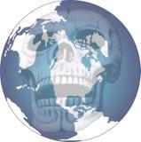 djupfryst värld Royaltyfria Bilder