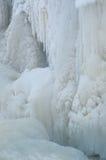 djupfryst vattenfall Royaltyfri Fotografi