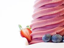 Djupfryst yoghurt Fotografering för Bildbyråer