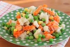 Djupfrysta grönsaker Royaltyfri Fotografi