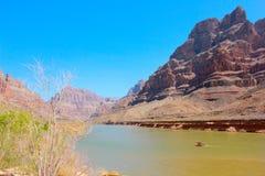 Djupgående Grand Canyon nationalpark Royaltyfria Foton