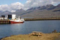 djupivogur iceland arkivbild