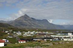 Djupivogur town, Iceland. Stock Image