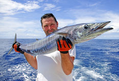 djupt fiskehav Royaltyfria Bilder