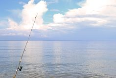 Djupt hav FishingActivities royaltyfria foton