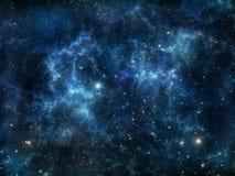 djupt nebulaavstånd royaltyfri illustrationer