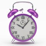 Djupt - purpurfärgad ringklocka Royaltyfria Bilder