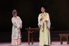 """Djupt tilldragande - Opera""""Madame den vita Snake†för tredje vin-Kunqu för handlingsmanguling en Royaltyfri Foto"""