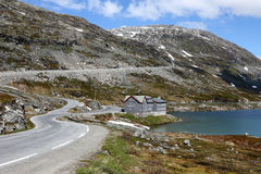 Djupvatnet湖挪威 免版税库存照片