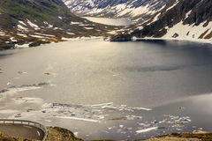 Djupvatnet lake, Norway Royalty Free Stock Photography