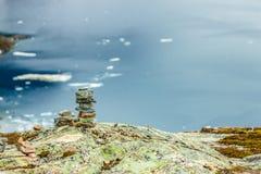 Djupvatnet lake, Norway Royalty Free Stock Image