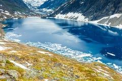Djupvatnet lake, Norway Stock Images