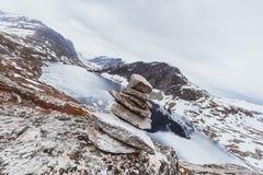 Djupvatnet See, Norwegen Stockfotos
