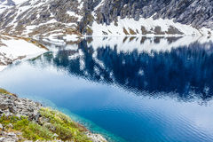 Djupvatnet See, Norwegen Lizenzfreie Stockfotografie