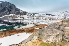 Djupvatnet See, Norwegen Stockfotografie
